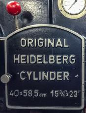 ハイデルベルグKSB印刷機