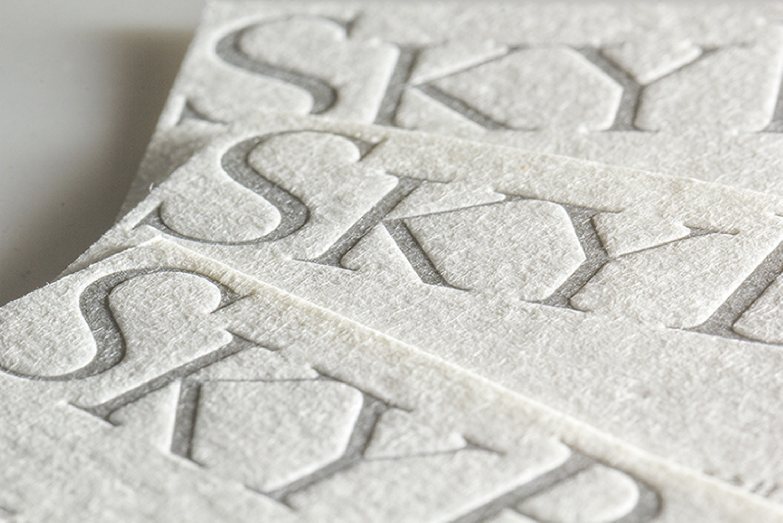 羊毛紙 表2色 株式会社スカイベイビーズ