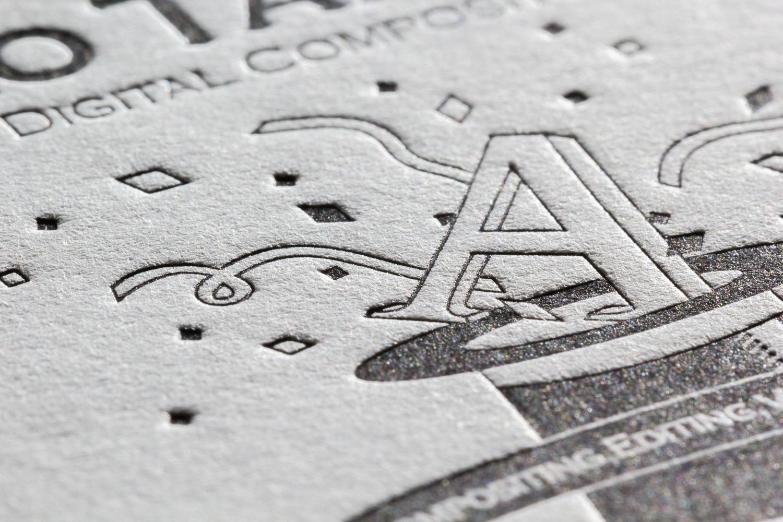 特Aクッション0.8 両面活版印刷