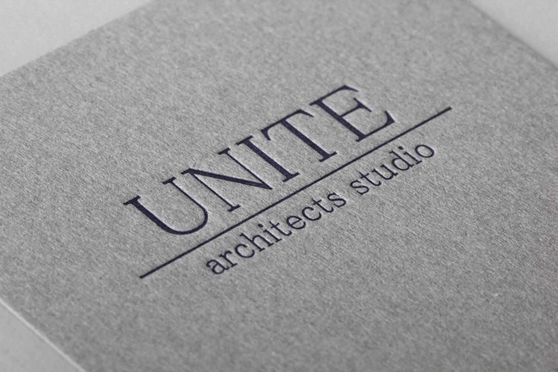 GAボード グレー 特色印刷(DIC指定)|UNITE architects studio